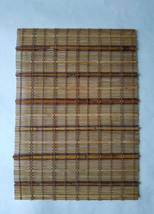 Бамбуковый коврик/подставка под горячее/подложка/циновка бамбуковая/макису