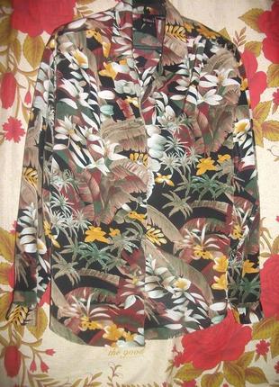 Блузка в цветы ricany