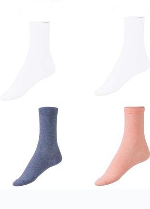 Набор носков 4 пары р. 35-38 39-42 носки хлопковые германия