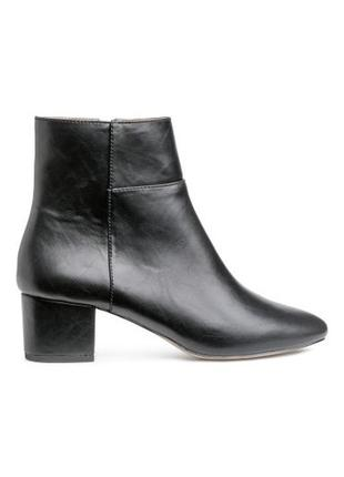 Весенние ботинки на устойчивом каблуке
