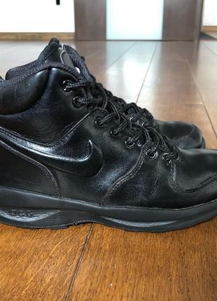 Ботинки кожаные nike  р. 35.5