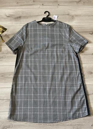 Платье primark клетка 46р