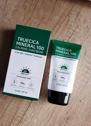 Успокаивающий солнцезащитный кремsome by mitruecica mineral
