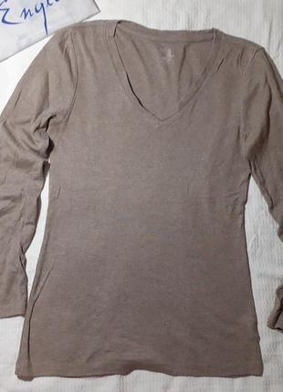 В наличии реглан свитрер кофта футболка длинный рукав трикотажка трикотажная кофейная