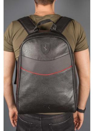 Новый стильный шикарный рюкзак кожа pu / сумка / портфель городской puma