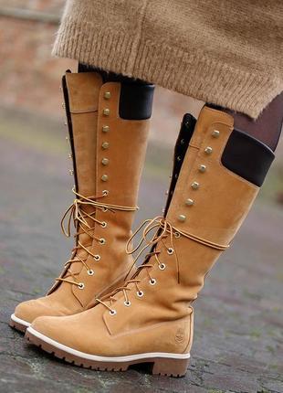 Фирменные ботинки timberland, размер 37