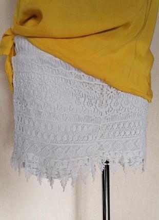 Красивые короткие ажурные шорты blino date casual