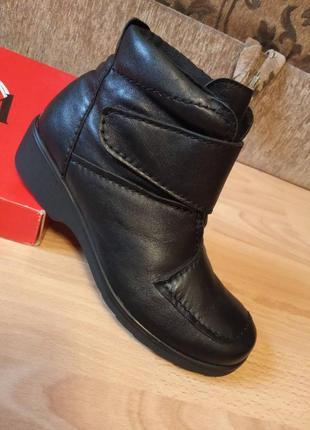 Австрия,люкс! шикарные,красивые,кожаные ботинки,полуботинки,полусапоги,полусапожки