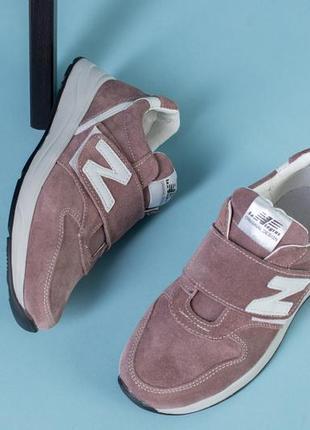 Lux обувь! натуральные замшевые кроссовки на липучке 32-39 размер