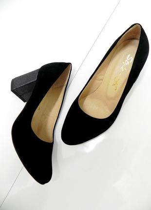Стильные туфли осень-весна .замша. 36,38