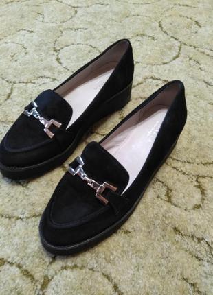 Женские кожаные (замша) туфли / лоферы carvela