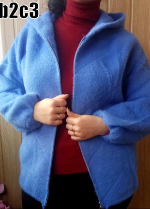 Верхняя демисезонная одежда кофта куртка альпака--разные цвета