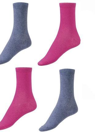 Набор женских носков 4 пары р. 35-38 носки хлопковые германия