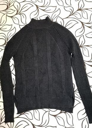 Гольф (свитер) черный