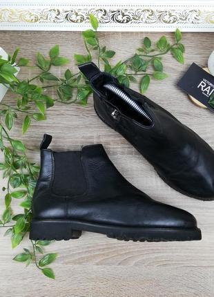 🌿38🌿европа🇪🇺 cafe noie. кожа. стильные ботинки