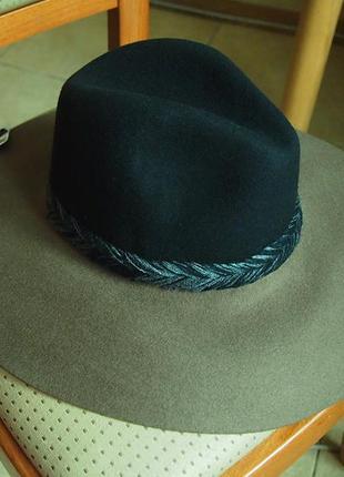 Шляпа zara шерсть 56 и 58