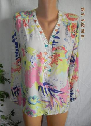 Легкая блуза франция