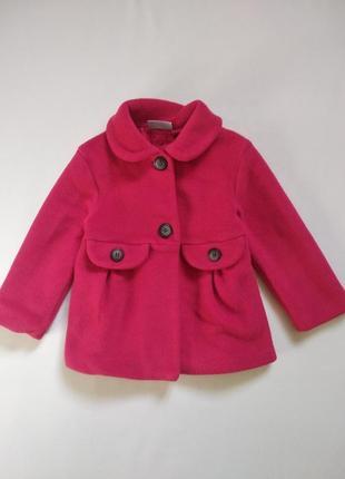 Красное пальто next 92 см