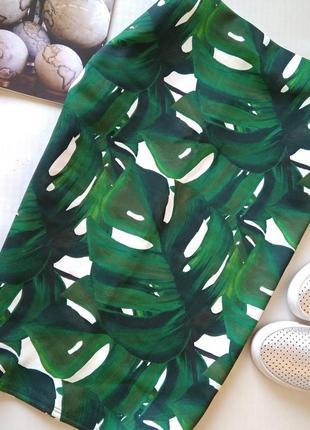 Красивенная юбка карандаш в листы dorothy perkins
