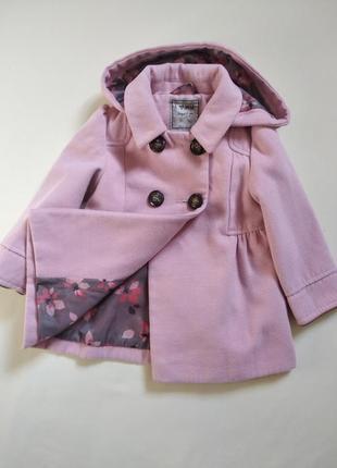 Милое пальто next 92 cм