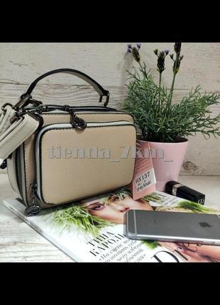 Женская сумка через плечо / клатч eteralsmile hx137 gray/khaki