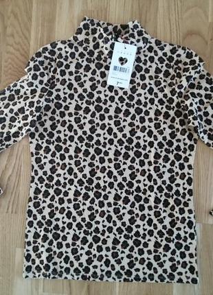 Гольф свитер леопардовый принт jennyfer