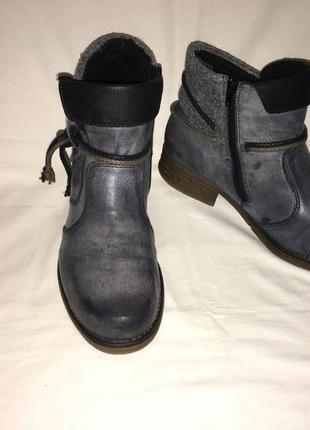 Ботинки *rieker* германия р.41-42 (27.50 см)