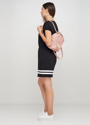 Женская пудровая сумка-рюкзак, 2 в 1,экокожа