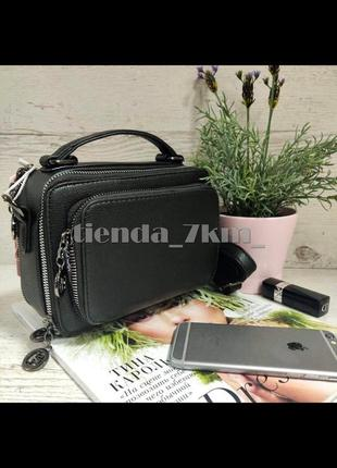 Женская сумка через плечо / клатч eteralsmile hx137 black