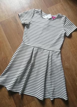 Полосатое платье, сукня, сарафан, плаття