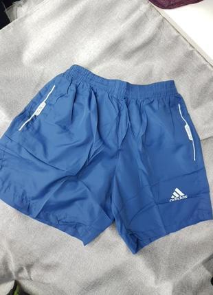 Шорты adidas плащёвка для спорта и плавания пляжа