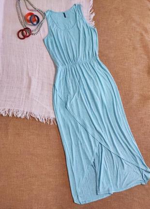 Платье сарафан макси длинное в пол яркое