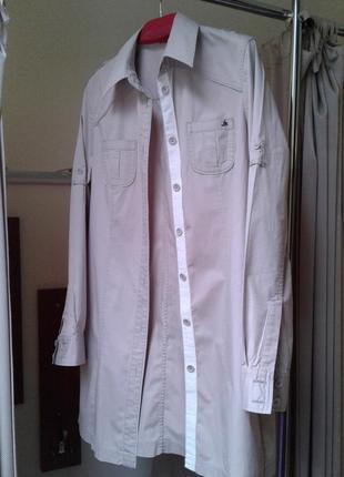 Рубашка-платье,туника-платье,38-40р.