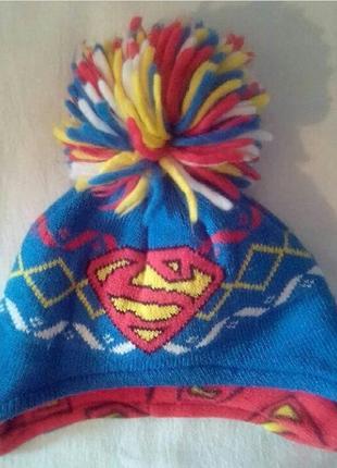 Шапочка супермен