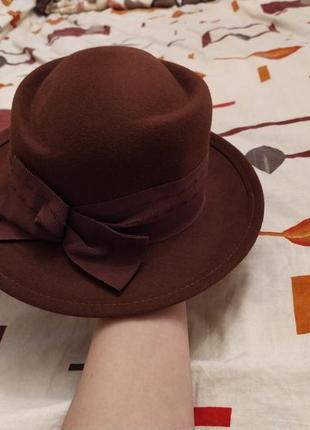 Фетровая шляпа vanessa
