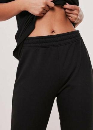 Спортивные штаны на высокой талии
