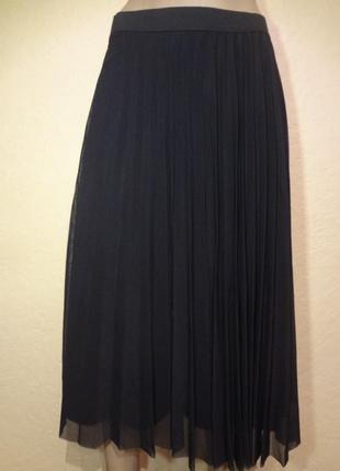 Красивая шикарная длинная юбка bershka размер m