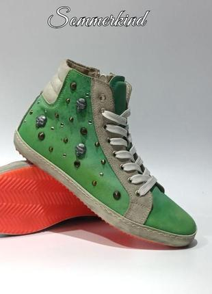 Кожаные кроссовки sommerkind