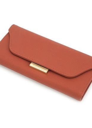 Женский кошелек портмоне weichen (laa8513-48) оранжевый