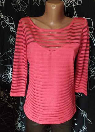 Бандажная блуза в полоску бренд оригинал
