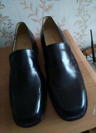 Туфлі шкіряні 47 р або 13 по ст 31,5 см ш11