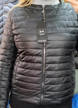 Курточка a&j биопух куртка весенняя