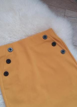 Модная юбка с высокой талией