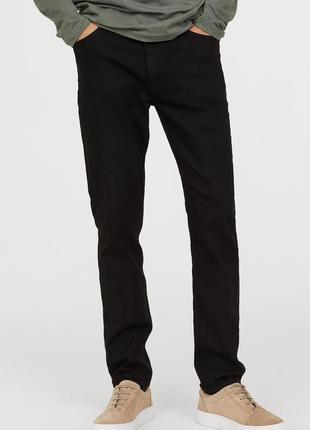 Черные джинсы h&m , slim low jeans !