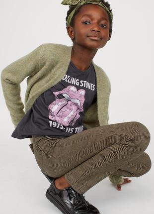 Модные леггинсы h&m на 7-10 лет