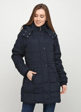 Куртка, пальто демисезонная темно синяя женская esmara по супер цене !