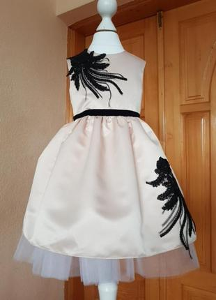 Платье, нарядное платье, бежевое платье, сукня , плаття