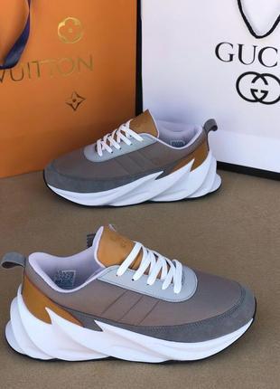 Мужские кроссовки/модные мужские кроссы/белые кроссовки/спортивные кроссовки