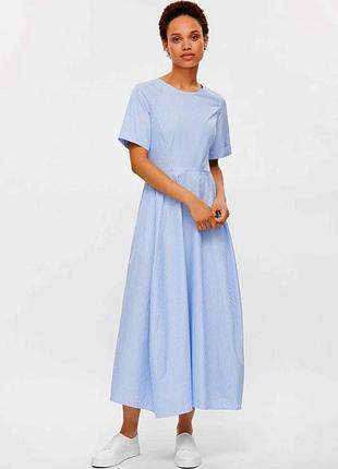 Шикарне літнє плаття міді cos