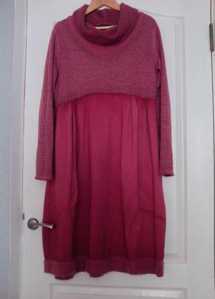 Платье в стиле бохо. италия.